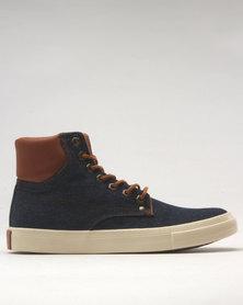 Soviet Philosopher Lace Up Sneaker Denim/Tan