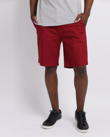 Levi's® Straight Chino Short Pomegranate
