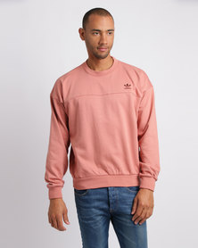 adidas Rawpin Crew Sweatshirt Pink