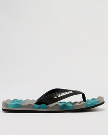 Quiksilver Massage Flip Flop Sandal Multi