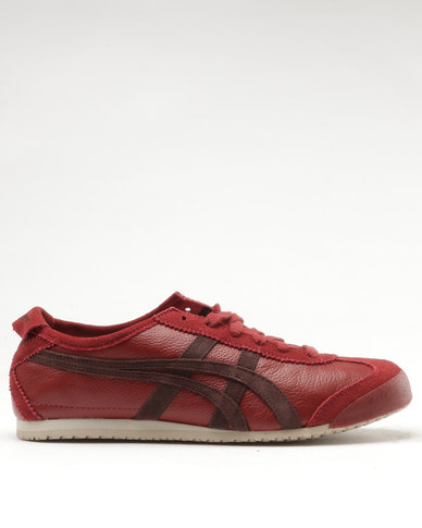 on sale 39c71 6e4f8 Onitsuka Tiger Mexico 66 Vintage Sneakers Red/Brown