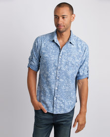 Quiksilver Bloomfield Shirt Blue