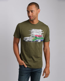 Quiksilver Wonderful World Tee Green