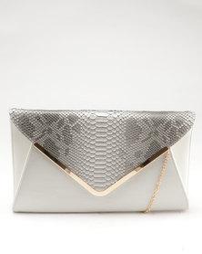 Blackcherry Bag Clutch Bag Grey