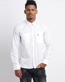 Cutty C Flyer Shirt White