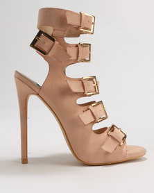 Noir High Heel Shoe Blush Pink