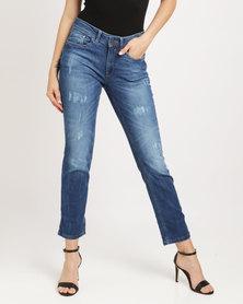 My Lycra Denim Jeans Blue
