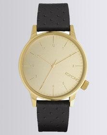 Komono Winston Zirconium Watch Black