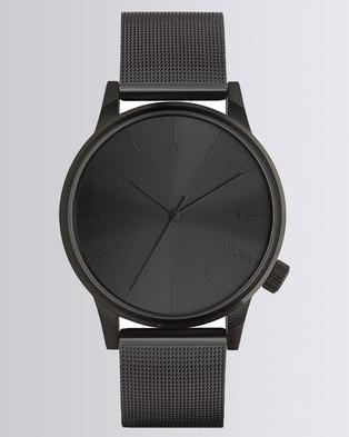 Komono Winston Royale Watch Black