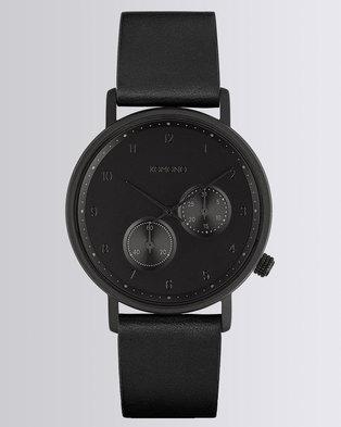 Komono Walther Watch Raven Black