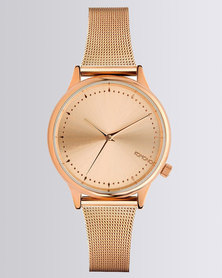 Komono Estelle Royale Watch Rose Gold-tone