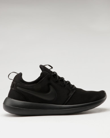 10c3aad08075 Nike Roshe Two Shoes Black