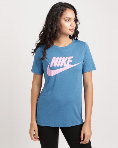 8a52c8f659 Nike Women s Nike Sportwear Essential Tee HBR Multi