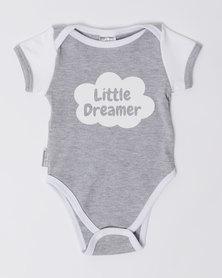 Poogy Bear Little Dreamer Body Vest Grey