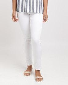 Slick All Jegging Pants White