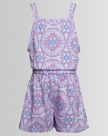 Rip Curl Girls Eve Playsuit Pink