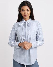 Levi's ® Sidney 1 Pocket Boyfriend Shirt Basswood Bright Blue