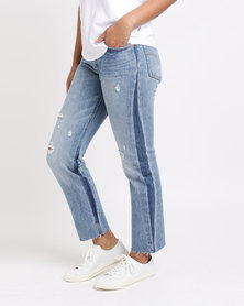 Levi's ® 501® Crop You Pretty Thing Blue