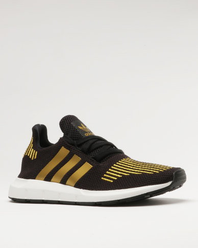 adidas Swift Run W Black/Gold