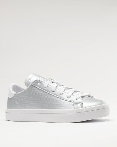56964509a5 adidas Courtvantage W Silver | Zando