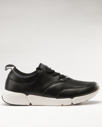 with mastercard cheap price Luciano Rossi Luciano Rossi Low Cut Lace Up Sneaker Black many kinds of find great sale online Z2KQZC8W