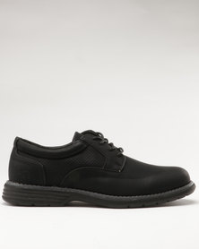 Luciano Rossi Derby Shoes Black