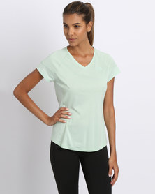 The North Face W Reactor V Neck s/s