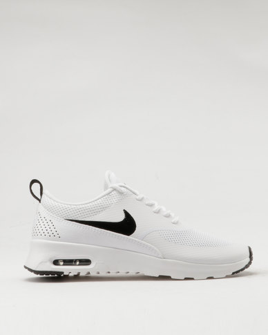 8e35a4d8c11a Nike Air Max Thea Womans White Black