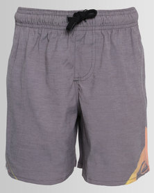 Quiksilver Boys All For One Boardshorts Grey