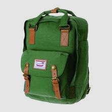 Doughnut Macaroon Backpack Green