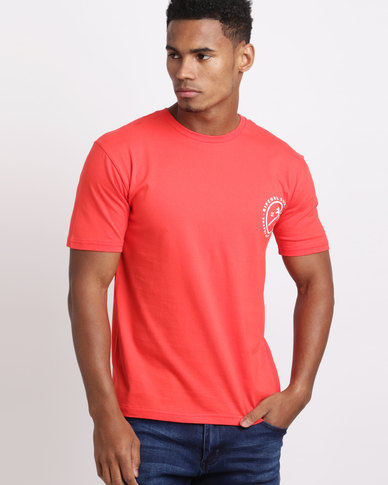 Rip Curl Roller Tee Red