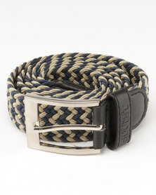 Soviet Explorer Belt Chocolate Navy
