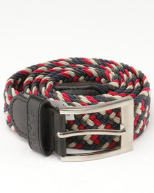 Soviet Explorer Belt Chocolate Charcoal/Red