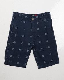 Klevas Boys Nautica Shorts Navy