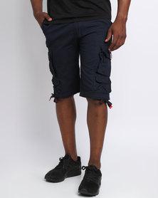 Cutty Battle Cargo Shorts Blue