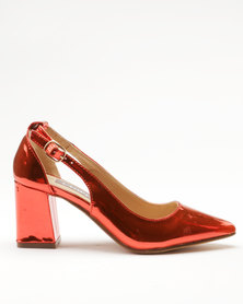 Utopia Block Pointy Courts Red