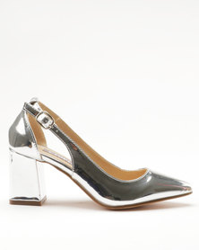 Utopia Block Pointy Courts Silver