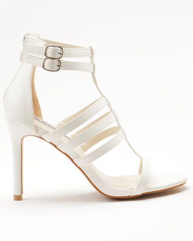 Utopia Utopia Strappy Heel Sandal White outlet marketable cheap best wholesale nicekicks online free shipping recommend gzwh6O9XT