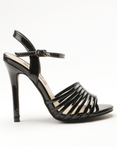 Sarah J Sarah J x Utopia Heeled Sandals Black cheap sneakernews 6jLc2iE1