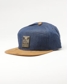 Soviet Ferret Cap Blue Denim
