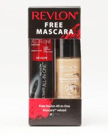 Revlon Colorstay Combo/Oily Makeup & Free Ultimate Mascara Golden Beige