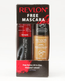 Revlon Colorstay Combo/Oily Makeup & Free Ultimate Mascara Toffee