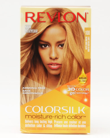 Revlon Colorsilk Moisture Rich Hair Color Light Golden Blonde Zando
