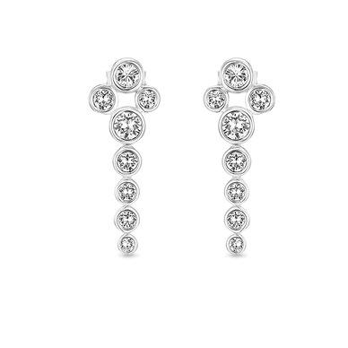 Dhia Jewellery Waterfall Earrings Sterling Silver