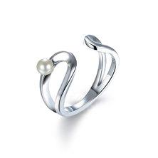 Dhia Jewellery Infinity Ring Pearl