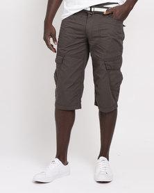 JCrew Clamdigger Shorts Olive