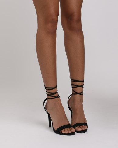 New Look Radiant 2 DT Tie Sandals Black