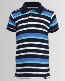 Soviet Verona Short Sleeve Golfer Tee Navy