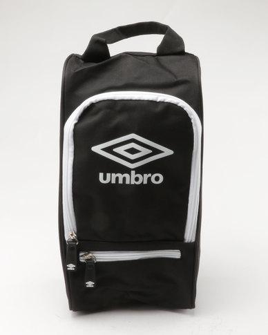 Umbro Boot Bag Black  c031e5f1ec