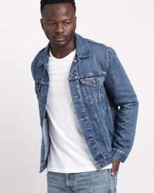 Levi's® The Trucker Jacket Med Stonewash
